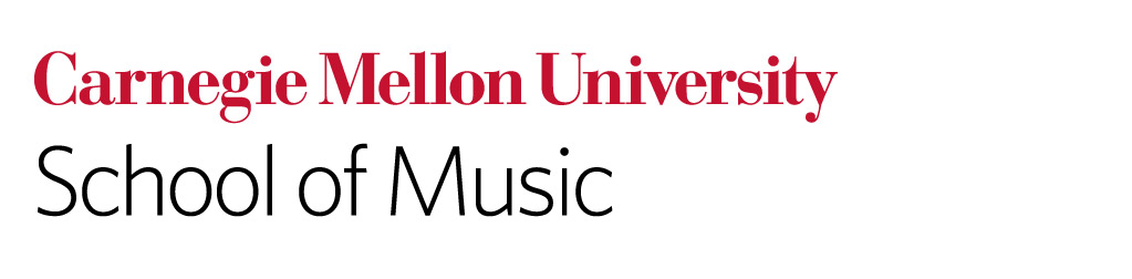Carnegie Mellon Univesity music - logo