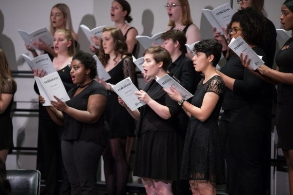 Wells School of Music choir