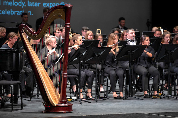 Wells School of Music. orchestra