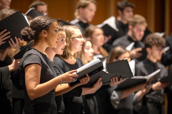 Wells School of Music.Choir