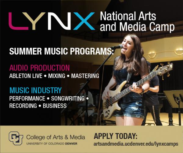 CU Denver LYNX music camp