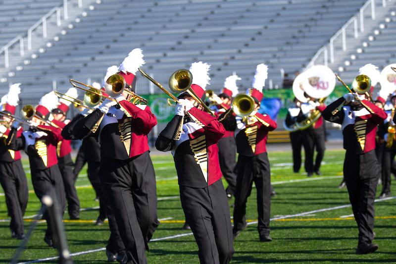 Kutztown University marching band