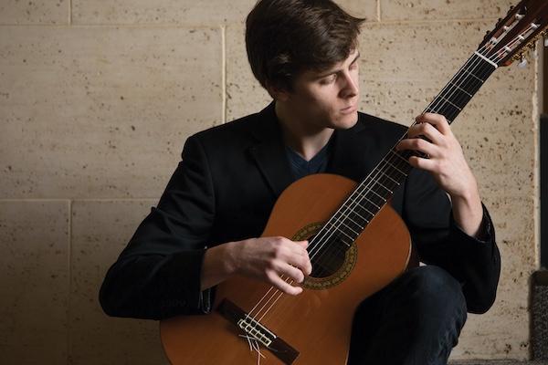 University of Redlands School of Music guitar student
