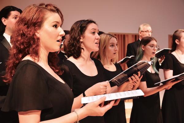 Wayne State University singers