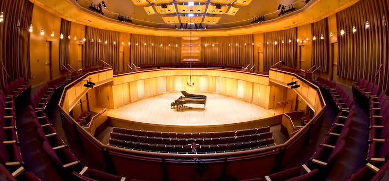 University of Minnesota Duluth music Weber Music Hall