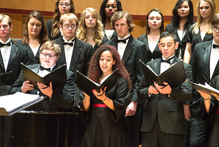 University of Minnesota Duluth music choir