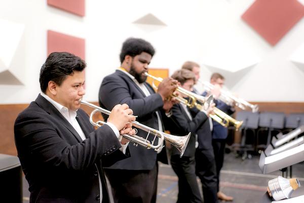 UNCSA trumpet students